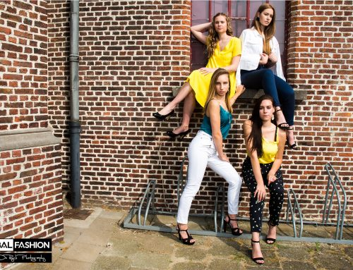 """Fotoshoot """"finalisten miss fashion 2020"""" dag 2"""